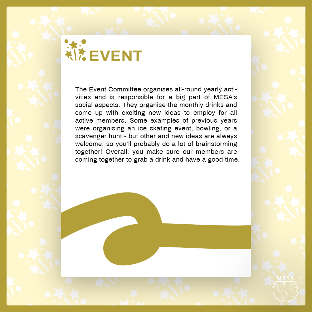 Event committee applications