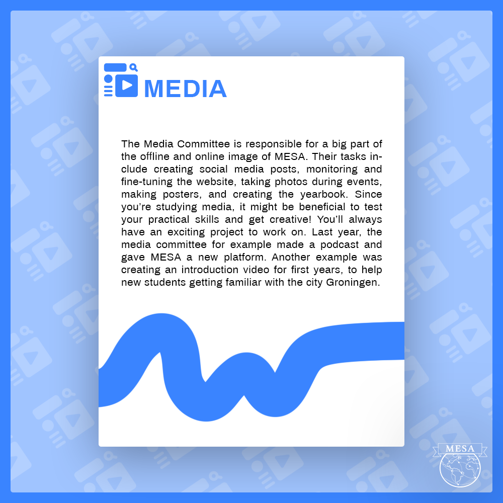 Media committee applications