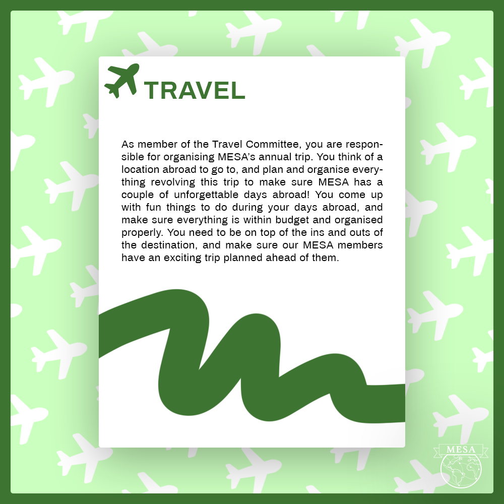 travel committee applications